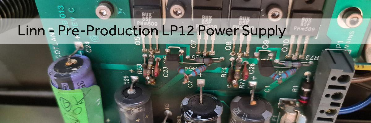 Pre-Production Linn Power Supply from late 1980s