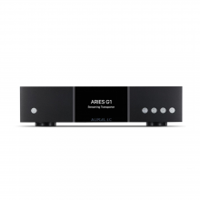 AURALiC Aries G1 Wireless Streaming Transporter front view.